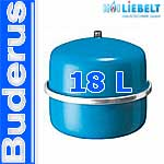 Buderus Logafix Druckausdehnungsgefäß MAG blau   18 l