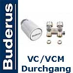 Buderus Logatrend HK-Zubehörpaket (VC/VCM) Durchgang