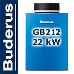 Buderus Gas-Brennwertkessel Logano plus GB212-22 Erdg.E